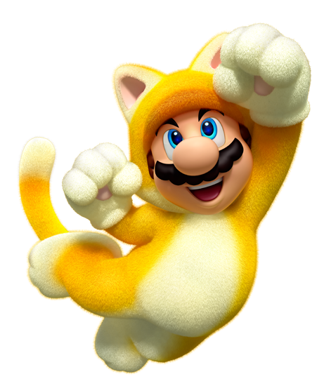 super mario 3d world katze