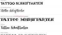 Tattoo-Schriftarten: Tätowierungen mit eigenem Text testen - und Motive finden (Tipps)