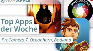 Top Apps der Woche: ProCamera 7, Oceanhorn, Badland