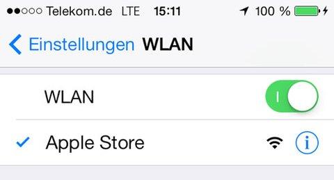 Vertrauenswürdige WLAN-Netzwerke