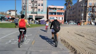 Cruising in Venice: Auf dem Rad durch Venice Beach (Off-Topic)