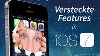 iOS 7: 25 versteckte Features, die man kennen sollte