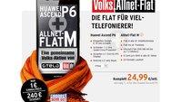 Tarif-Tipp: Huawei Ascend P6 mit Volks-Allnet-Flat von Bild und Otelo für 1 Euro [Deal]
