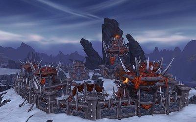Warlords of Draenor: So könnte eine Horde-Festung im hohen Norden aussehen