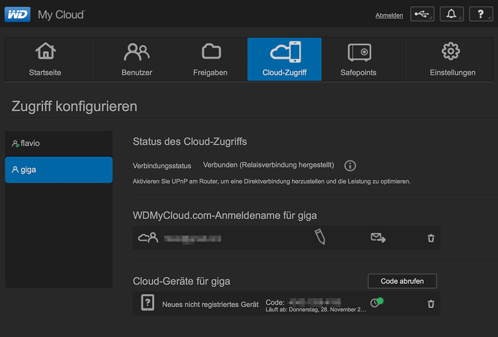 wd my cloud software download giga