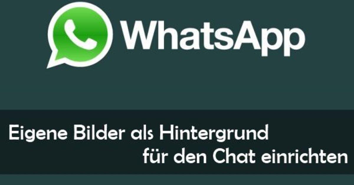 Iphone 6 whatsapp hintergrund andern