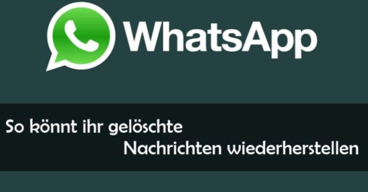 Whatsapp Wiederherstellen Iphone X