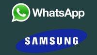 WhatsApp für Samsung: Download, Installation und Einführung