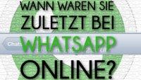WhatsApp Online-Status verbergen (iPhone) – Bild für Bild