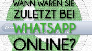 """WhatsApp: Online-Status """"Zuletzt online"""" verbergen (Android & iOS)"""