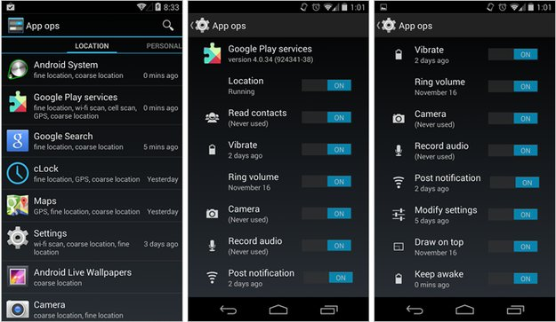 Google: Rechteverwaltung App Ops war nie für den Endnutzer gedacht