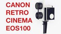 Kommt bald eine Retro-Videokamera von Canon?