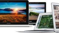 Sinkende MacBook-Verkaufsanteile: Chromebooks sind 2013 der Gewinner