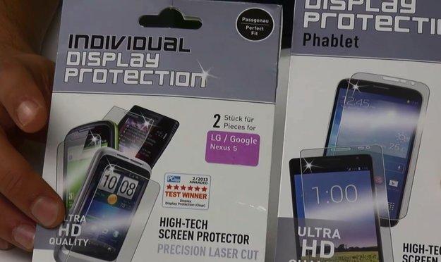 Displex Easy-On: Displayschutzfolien im Hands-On-Video