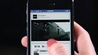 Facebook: Autoplay-Werbung bestätigt, noch diese Woche für erste Nutzer