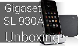 Android Festnetztelefon: Gigaset SL930A Unboxing