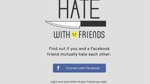 Hate With Friends: Endlich alle Facebook-Freunde hassen!
