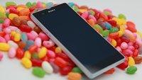 Diverse Sony Xperia-Geräte erhalten Update auf Android 4.3/Jelly Bean