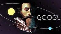 Johannes Kepler, happy Birthday! (Google Doodle)