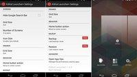 KitKat Launcher+: Kleinere Icons und freiere Homescreens für Android ab 4.3