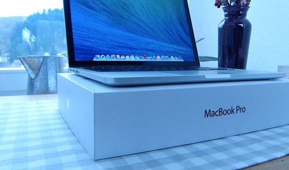 MacBook Pro mit Retina-Display Review (Ende 2013, 13 Zoll)