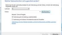 Netzlaufwerk verbinden unter Windows 7 - Anleitung