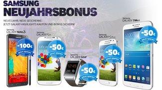 Samsung Cashback-Aktion: 5 verschiedene Geräte für günstiger