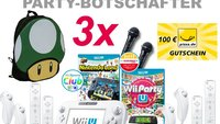 Nintendo: Werdet Wii U Party-Botschafter