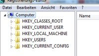 Windows Registry öffnen - Howto
