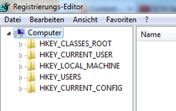 Windows Registry öffnen - Howto