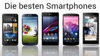 Smartphone Vergleich: 5 der besten Android-Smartphones im Überblick