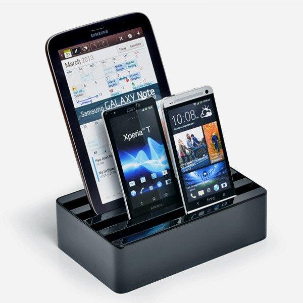 Eine Docking-Station für alle: All-Dock als universeller USB-Charger (Kickstarter)