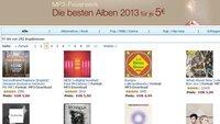 Amazon MP3-Feuerwerk: 290 Alben des Jahres für je 5 € - Daft Punk, Jay Z, Black Sabbath...