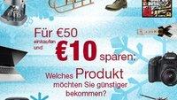 Amazon-Gutscheine: 10€ geschenkt für Facebook-User, 15€ bei Mode-Bestellung