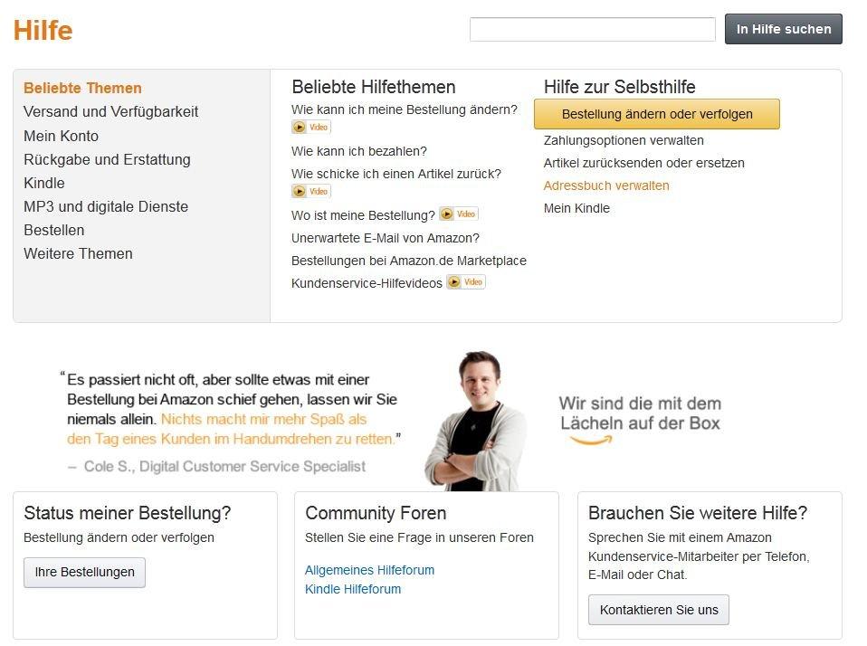 Amazon telefon deutschland