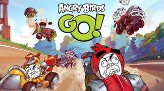 Angry Birds Go: Mini-Racer für iOS und Android macht angry [Kommentar+Gameplay]