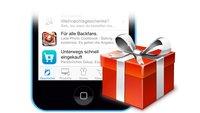 Apple Store verschenkt App im Wert von 3,59 Euro