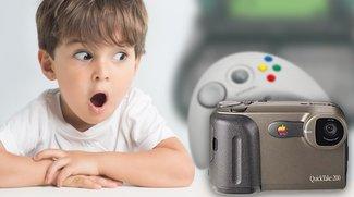 3 skurrile Apple-Produkte: Die Spielkonsole, das Netbook und die Kamera