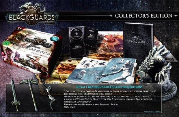 Das Schwarze Auge - Blackguards: Inhalte der Collector's Edition bekannt