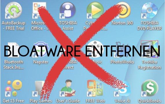 Bloatware vom PC entfernen: Vorinstallierte Windows-Software löschen