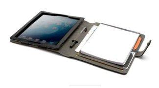 Booqpad Hülle für iPad 2/3/4 (schwarz/grau) für 15,90 € statt 52 € bei Cyberport