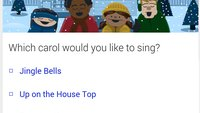 """""""Let's go caroling"""" - Weihnachtslieder mit Google Search singen!"""