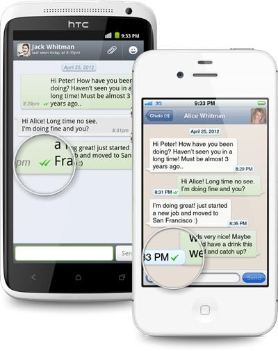 WhatsApp nur ein Haken neben Nachricht – was bedeutet das?