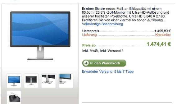 Mac Pro: 4K-Displays von Dell jetzt in Deutschland verfügbar (Update)