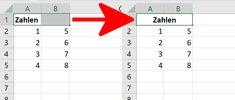 Excel: Zellen verbinden & wieder trennen – so geht's