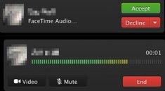 Mavericks: Entwickler können OS X 10.9.2 mit FaceTime Audio testen