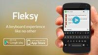 Fleksy: Alternative iOS-Tastatur wird Teil mehrerer Apps