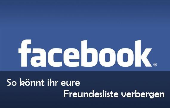 Facebook Kontakte Verbergen
