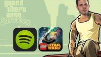 GIGA Bits: GTA San Andreas für iOS, kostenloses Spotify und AppleSoft