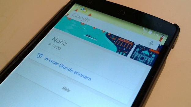 Google Now: Erinnerungsfunktion in Deutschland nutzbar